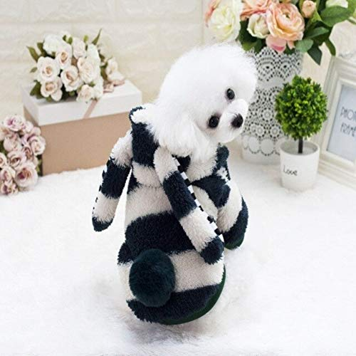 Kostüm Dog Ear - QZHYGE Hundebekleidung Winter Pet Pyjamas Big Ears Soft Dog Kostüm Chihuahua Yorkie Kleidung Puppy Outfit S Hundebekleidung