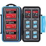 Flashwoife Turtle-CF3SD6MSD12 boîtier pour carte mémoire (résistant à l'eau) pour - 3 x CF et 6 x SDHC et 12 x microSD