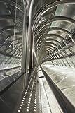 Paragon Square–Follow Me von doumai–Bild Foto auf Alu Dibond–Größe 40cm x 60cm–System von Haltevorrichtungen von Schienen Aluminium–Referenz 310105dbl3r-40