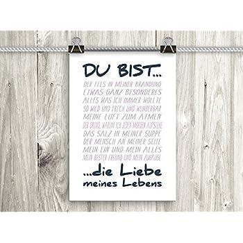 Amazon.de: artissimo, Poster mit Spruch, Din A4, PE0063-DR