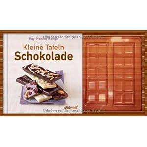 Kleine Tafeln Schokolade-Set: Buch mit Gießform