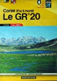 Libris Wanderkarte 20 Corse 1 : 50 000