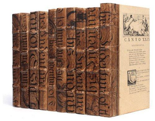 GO&HOME Antik Linear Fuß der Bücher