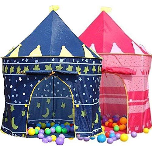 Homyl Kinderzelt Spielzelt Zelt Babyzelt Gartenzelt Kinderzimmer Spielhaus Kinder Outdoor Spielzeug - Rosa