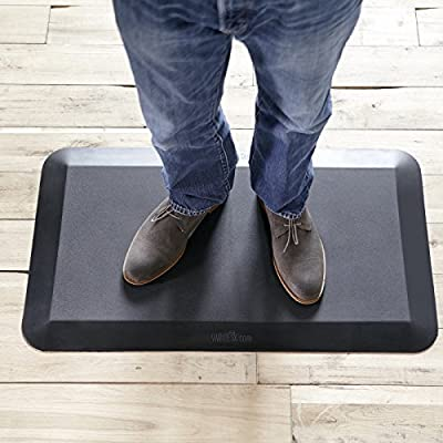 VARIDESK - Standing Desk Floor Mat - cheap UK light store.