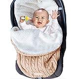 Baby Winter Einschlagdecke, Wickeldecke für Neugeborene, Swaddle Decke Schlafsack Schlafen Sack Kinderwagen Wickeln Schlaf Säcke für Kinderwagen Babybett
