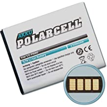 PolarCell - Batteria per Optimus 4X HD, 9, LTE 2, P769, P880 / BL-53QH, 2300mAh, 8,5Wh