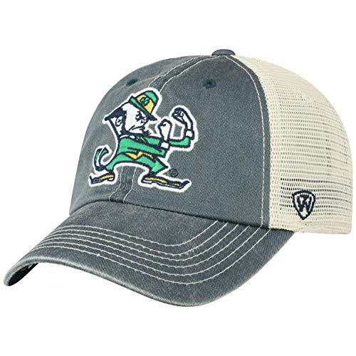 ren Mütze NCAA Vintage Team Icon verstellbar, Herren, NCAA Men's Vintage Mesh Adjustable Icon Hat, Notre Dame Fighting Irish Navy, Einstellbar ()