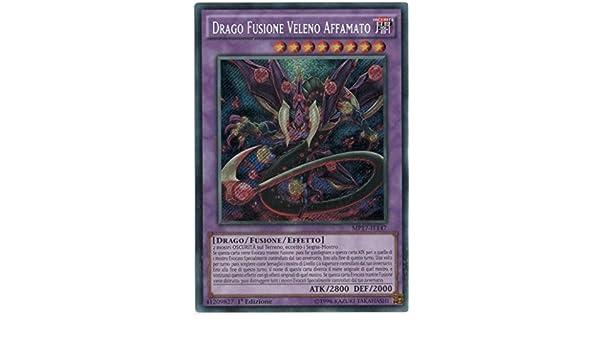 kaartspellen Yu-Gi-Oh Drago Fusione Veleno Affamato MP17-IT147 Segreta