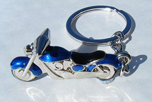email-bleu-avec-boite-cadeau-chrome-moto-biker-porte-cles