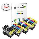 Colour Direct - 15 Compatible cartouches d'encre - 29XL Remplacement Pour Epson Expression Home XP-235 XP-245 XP-247 XP-255 XP-257 XP-332 XP-335 XP-342 XP-345 XP-352 XP-355 XP-432 XP-435 XP-442 XP-445 XP-452 XP-455 imprimantes. 6 X 2991 3 x 2992 3 X 2993 3 X 2994 ( 15 Encres )