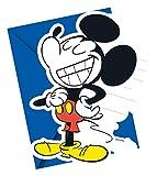 12-teiliges Einladungskarten-Set * MICKEY MOUSE - SUPER COOL * von Disney für Kindergeburtstag oder Mottoparty // Kinder Geburtstag Motto Party Micky Maus Einladungen Invites