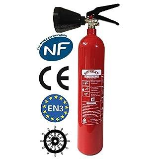 ANAF Tragbarer Feuerlöscher CO2; 2KG