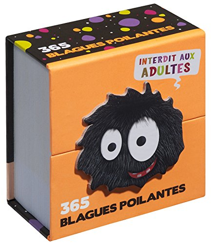 Mini calendrier - 365 blagues poilantes, interdit aux adultes ! par Collectif