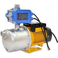 Bomba de Agua de Superficie 900W INOX con Presostato 80L/Min de Flujo