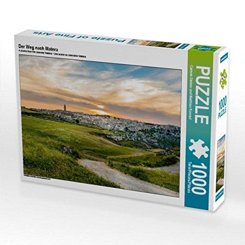 Der Weg nach Matera 1000 Teile Puzzle quer