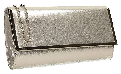 SwankySwans , Pochette pour femme Taille Unique Silver