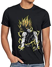 style3 Goku Pop-Art Power T-Shirt Homme ball z