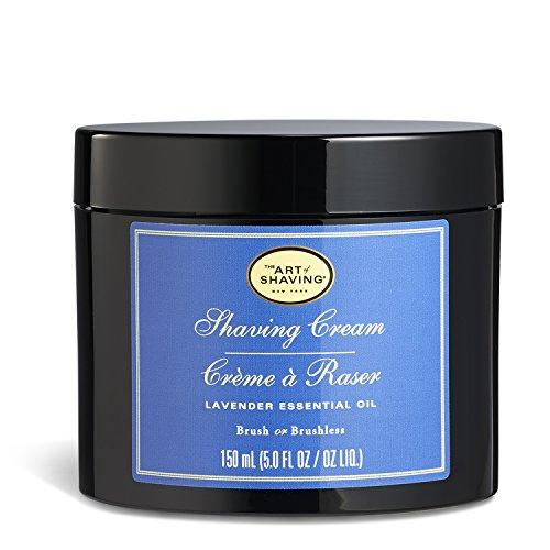 The Art Of Shaving Shaving Cream - Lavender, Rasiercreme Lavendel 150ml - Close Shave Oil