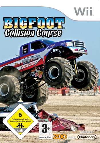 Big Foot Collision Course Monster Truck Wii