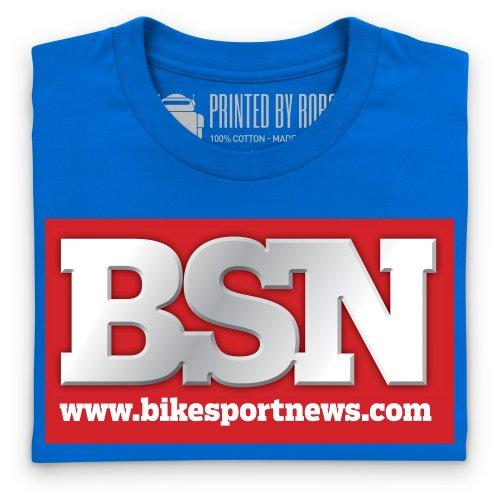 BSN Logo T-Shirt, Herren Royalblau