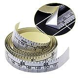 qiman 151cm selbstklebende metrische Metro a nastro adesivo in vinile sovrano per macchina da cucire