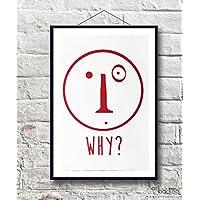 Federico Clapis - WHY - 56x76 cm - Art Backers - Serigrafia - Edizione Limitata