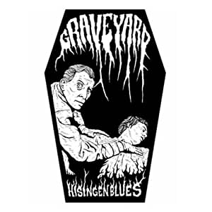Graveyard - Backpatch Hisingen Blues (in 23,5 cm x 20 cm)