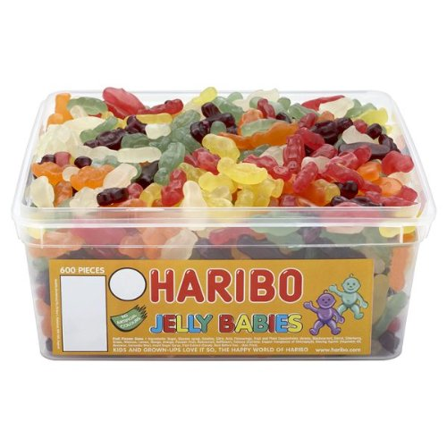 Haribo Mini Jelly Babies (tub of 600)