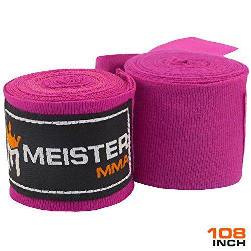 Meister Junior 274cm elastische Baumwoll Handbandagen für