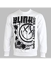 CID - BLINK 182 - Spelled OUT Crewneck Sweatshirt Pullover
