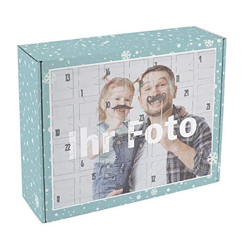 Herz & Heim® Foto-Adventskalender zum Befüllen mit Ihrem Lieblingsbild - Made in Germany