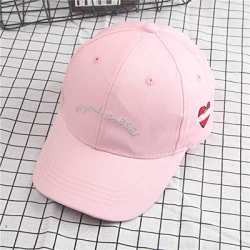 Geld Tasche Kostüm Für Kleinkind - mlpnko Männliche und weibliche Baby-Baseballmütze Eltern-Kind-Schirmmütze Englischer rosa Kinderabschnitt 50-54CM