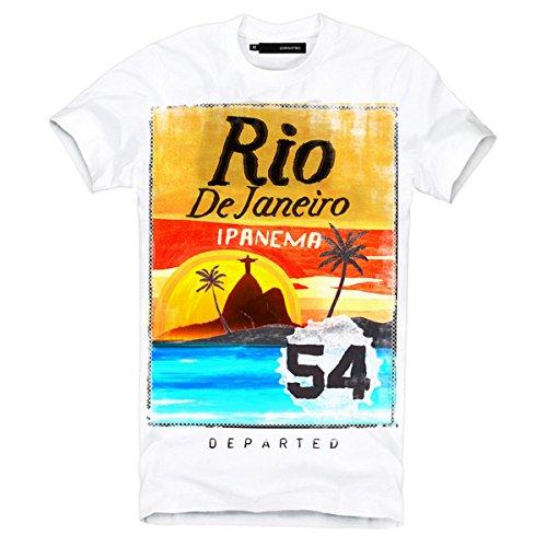 "DEPARTED Fashion Shirt ""3426-020"" Weiß"