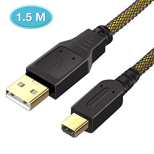6amLifestyle Cable de carga superior de alta velocidad del cargador de la energía de la sincronización de los datos del USB 1.5M para Nintendo 2DS / 3DS / 3DS XL / DSi / DSi XL