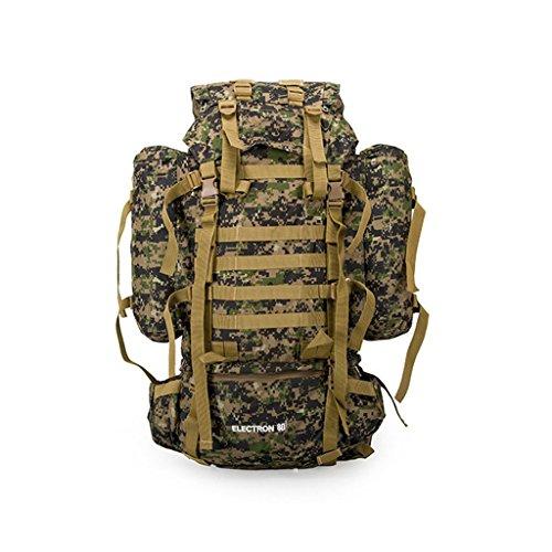Camouflage Camouflage multifonctionnels extérieur sac à dos plein air amovibles en plein air sacs paquet d'alpinisme voyage sac à dos de camping