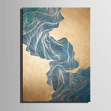 Öl Malerei Moderne Abstrakte Green Stone Mountain Reine Hand Zeichnen Rahmenlose Dekorative Malerei, Gehören Innerer Rahmen, 20