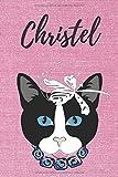 Christel Notizbuch Katze / Malbuch / Tagebuch / Journal / DIN A5 / Geschenk:...