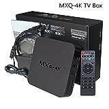 MXQ 4K TV-Box, NHsunray Smart Android RK3229 Quad Core Full HD Streaming Media Player Netzwerk-Set-Top-Boxen 1GB RAM + 8GB