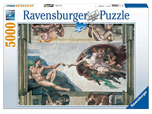 Ravensburger - Michelangelo - Die Erschaffung des Adam, 5000 Teile Puzzle