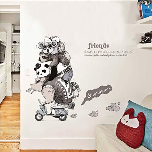 Makeyong Arte De La Pared Niños Habitación Pegatinas De Pared De Dibujos...