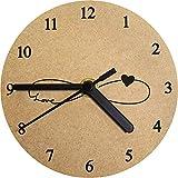 130mm 'Símbolo del Amor del Infinito' Reloj de Pared pequeño MDF (CK00010436)