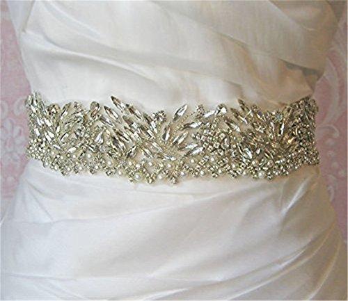Trlyc wedding Crystal Belt cintura da sposa sposa Sash applique trlyc champagne ribbon