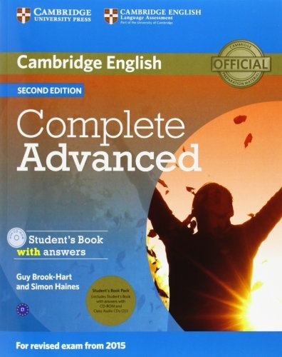 Complete Advanced Student's Book Pack (Student's Book with Answers with CD-ROM and Class Audio CDs (2)) by Guy Brook-Hart (2014-04-07)