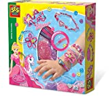 SES 14128 Crafting Hobby Creative Making a Mess Children's Apron Painting My First Moulding Clay Colouring Pencils Pens 14128-Glitzerarmbänder Glitter Dreams, Spiel
