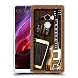 Head Case Designs Musik Man Shadow Box Soft Gel Hülle für Xiaomi Mi Mix 2