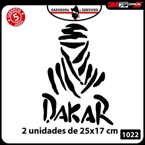Pegatina Dakar 25 cm altura