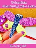 Clip: Wolkenschleim Schmetterlinge selber machen - Foam Clay DIY