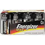 Energizer : Alkaline Batteries, C, 8 Batteries Per Pack -:- Sold As 2 Packs Of - 8 - / - Total Of 16 Each