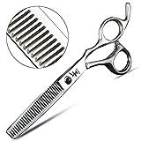 HEMATITE 6 Zoll professionelle Haar Effilierschere, eine Vielzahl von Spezifikationen Haar Effilierschere (Ausdünnungsmenge 10-15%)